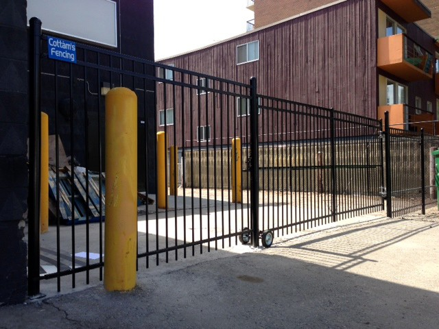 Ornamental Iron Fence Calgary Cottams Fencing
